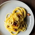 Pasta carbonara met Pecorino
